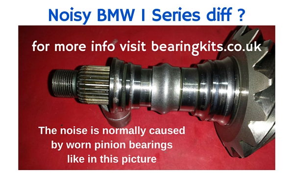 bmw 1 series diff bearing noise