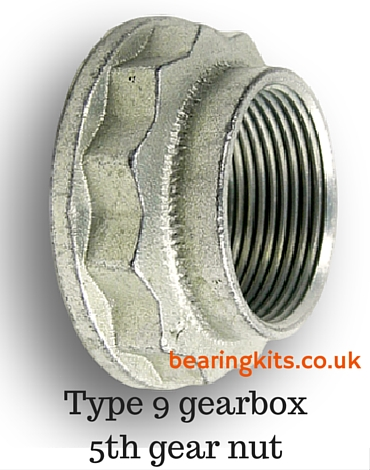 ford type 9 gearbox nut
