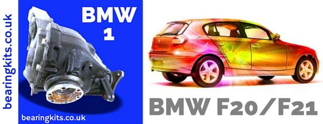 BMW F20 F21 DIFF PARTS