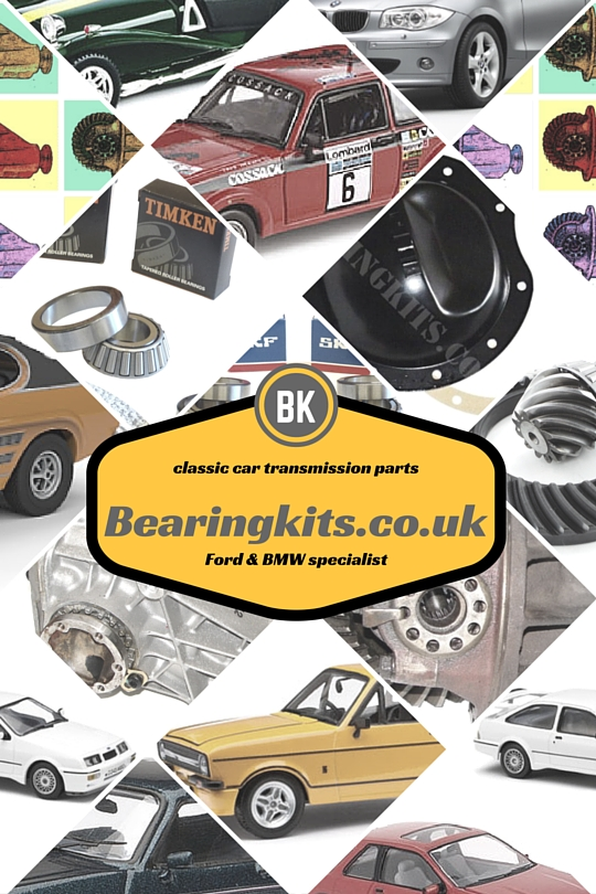 ford gearbox bmw differential parts spares bearings