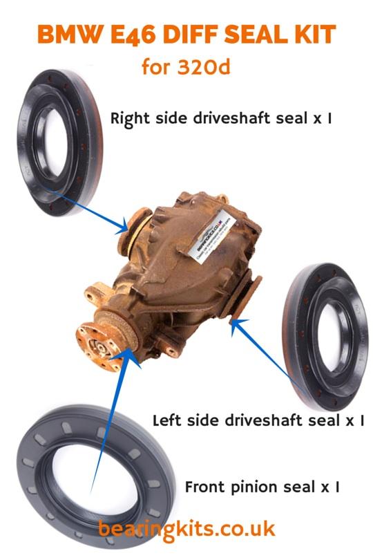 Bmw Diff Repair Parts Classic Bmw Differential Rebuild