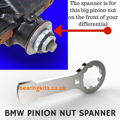 BMW pinion nut spanner