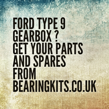 ford type 9 gearbox input shaft lengths for conversions