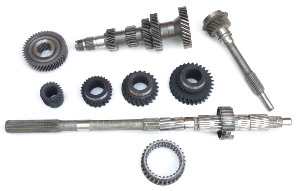 Standard Ford Type 9 gearbox transmission intermediate length input shaft set of gears
