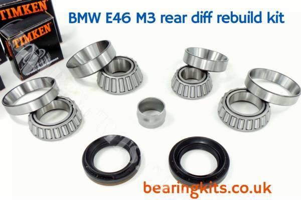 BMW M3 E36 3.2 3 SERIES DIFFERENTIAL NOISE MASTER REBUILD KIT