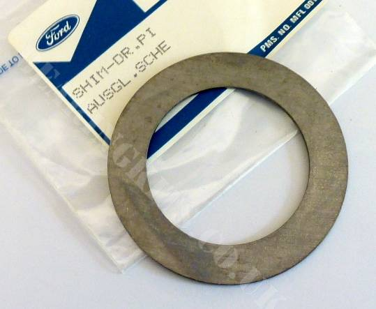 Ford Capri Atlas axle pinion height shim spacer washer