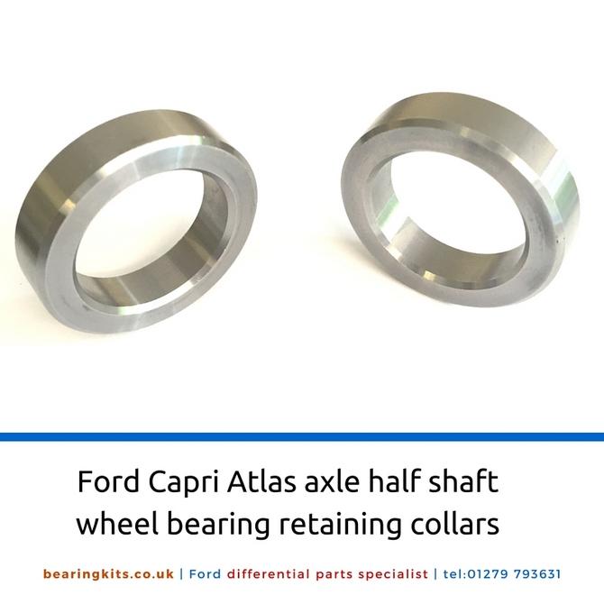 Ford Atlas axle half shaft wheel bearing retaining collar 30mm id