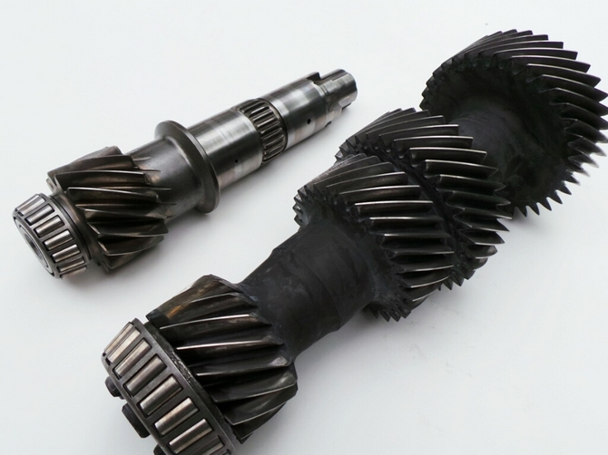 Tremec T56 gearbox laygear cluster close ratio with 5th & 6th gear extension