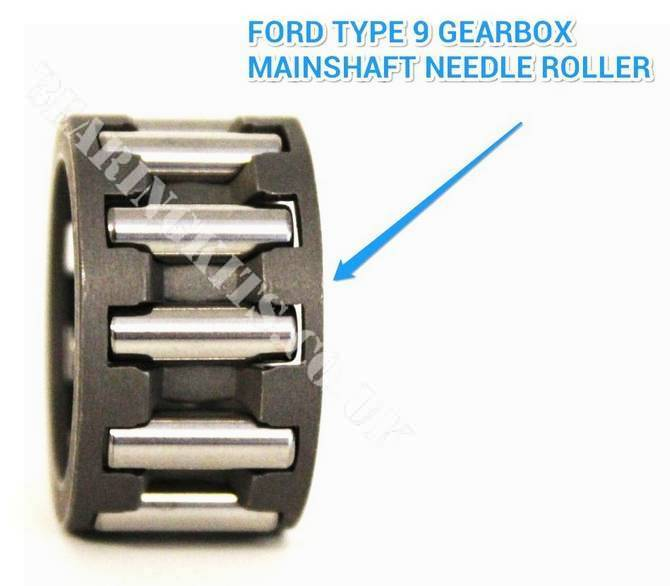 TYPE 9 GEARBOX MAINSHAFT FRONT NEEDLE ROLLER BEARING