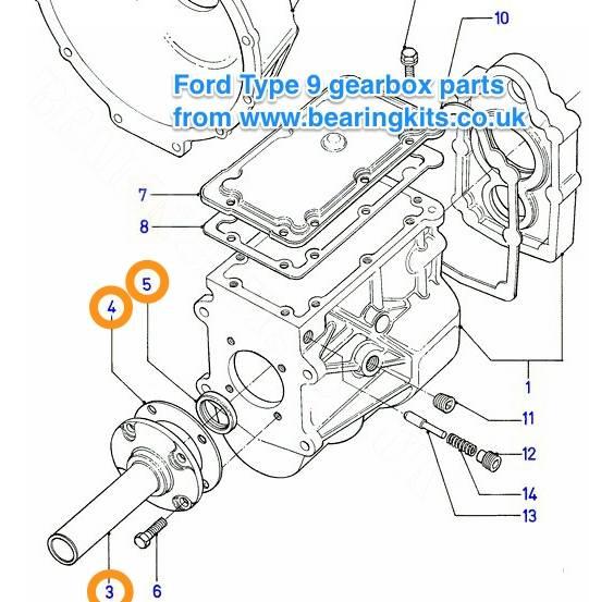 Ford Gearbox Parts Ford Type 9 Gearbox Parts Ford Sierra Type