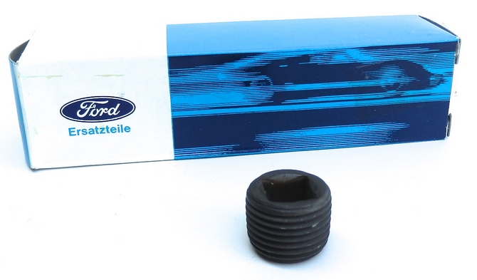 Ford steel oil filler plug for Ford Type E 4 speed gearboxes