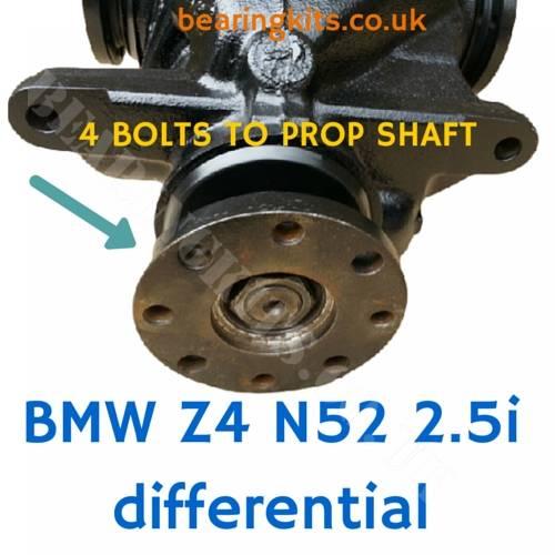 Bmw Z4 E85 Problems: BMW Z4 E85 E86 Rear Differential