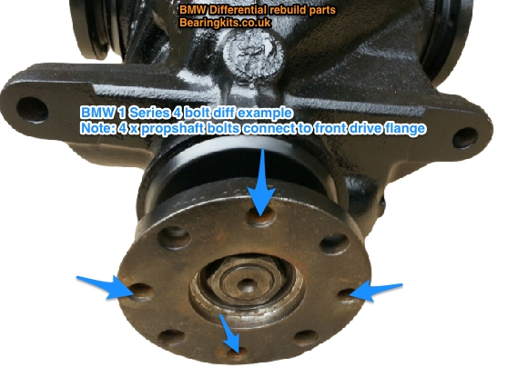 Bmw Diff Repair Parts Bmw 1 Series E81 E82 E87 E88 F20 F21