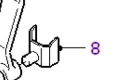 Type 9 gearbox reverse idler gear selector guide fork