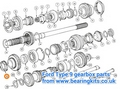 FORD SIERRA Type 9 GEARBOX 1st gear Synchro ring