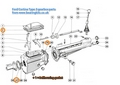 FORD TYPE 3 SINGLE RAIL CORTINA GEARBOX GASKET SET