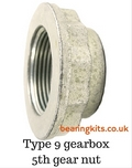 TYPE 9 GEARBOX LAYGEAR REAR 5TH GEAR NUT