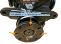 BMW X3 SERIES 4 bolt REAR DIFFERENTIAL NOISE REPAIR KIT