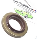 HIGH TEMPERATURE FORD MK1 MK2 ESCORT CORTINA ENGLISH DIFF AXLE SEAL GASKET KIT