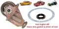 HEAVY DUTY ESCORT ENGLISH DIFF AXLE SEAL GASKET KIT