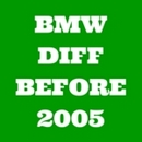 Classic BMW Differential rebuild kits pre 2005
