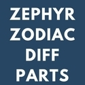 FORD ZEPHYR AND ZODIAC DIFF PARTS