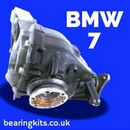 BMW 7 SERIES DIFFERENTIAL SERVICE PARTS