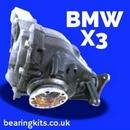 BMW X3 E83 F25 Differential rebuild parts