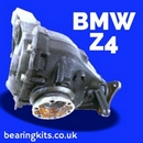 BMW Z4 E85 E86 Rear differential bearing rebuild kits