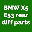 BMW X5 front and rear diff repair parts and rebuild spares
