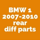 BMW 1 Series E81 E82 E87 E88 F20 F21 Differential rebuild parts