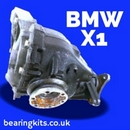 BMW X1 REAR DIFF REBUILD KITS AND BEARINGS